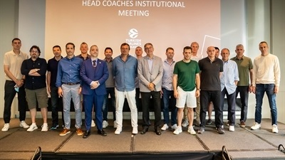 EuroLeague coaches look to future at annual workshop