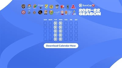 Download 7DAYS EuroCup calendar to your favorite device!