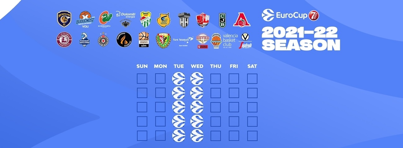 Download the new 7DAYS EuroCup calendar to your favorite device!