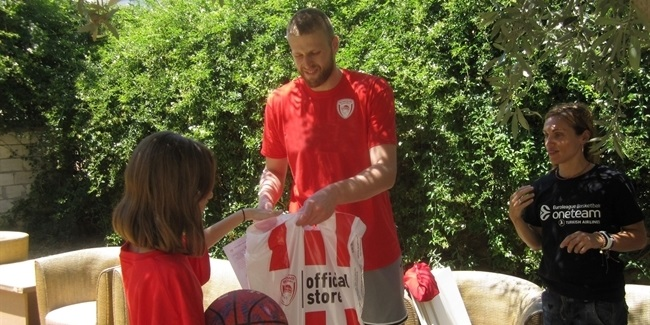 Building confidence with Olympiacos and One Team