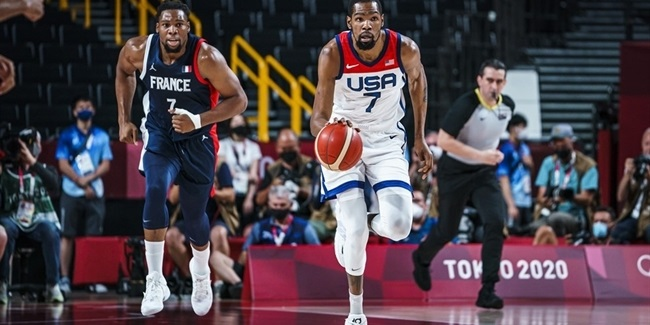Olympics Roundup: USA wins gold over France, Australia takes bronze