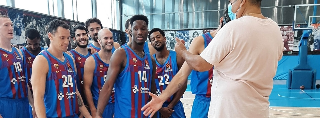 FC Barcelona takes its turn for Media Day