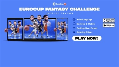 Play the new EuroCup FANTASY CHALLENGE now!