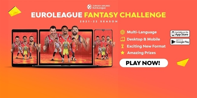 Play the new EuroLeague FANTASY CHALLENGE now!