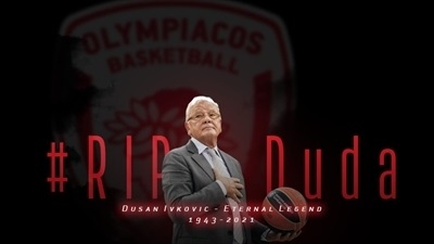 Condolences pour in for Ivkovic: 'You were basketball itself'