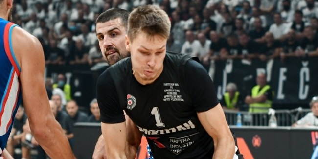 Partizan pens Glas to three-year deal