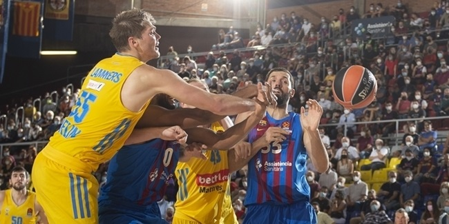 Mirotic, Barcelona were perfect in Round 1