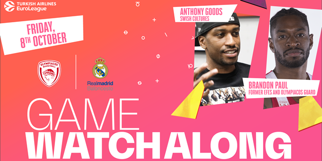 The EuroLeague Watchalong: Olympiacos vs. Real Madrid