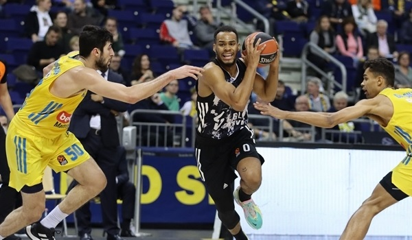 RS2 Report: ASVEL survives road battle to beat ALBA, improve to 2-0