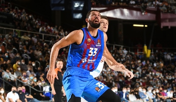 RS5 Report: Barcelona thrashes Zenit, 84-58, in playoffs replay