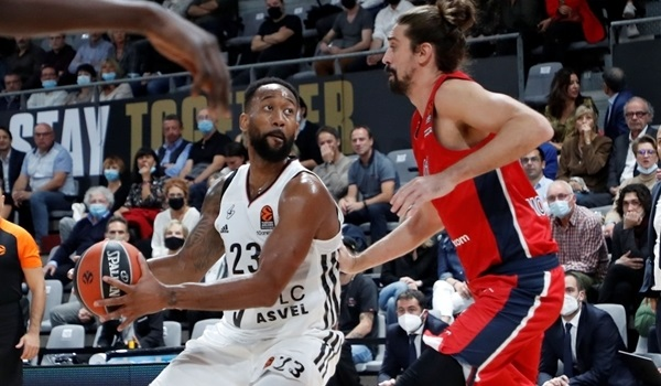 RS6 Report: ASVEL prevails over CSKA at home after losing big lead